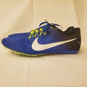 Nike Zoom Victory 3 Track Spikes Blue Volt White